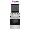 ABANS FREE STANDING COOKER 50X55CM 4GAS BURNER GAS OVEN F5S40G2-SS