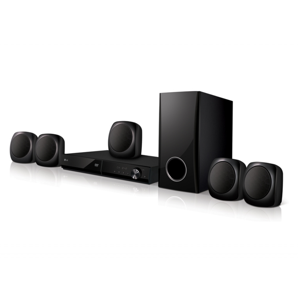 LG DVD HOME THEATER SYSTEM LHD427 330W 5.1Ch