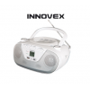 INNOVEX IFR 004 PORTABLE CD RADIO
