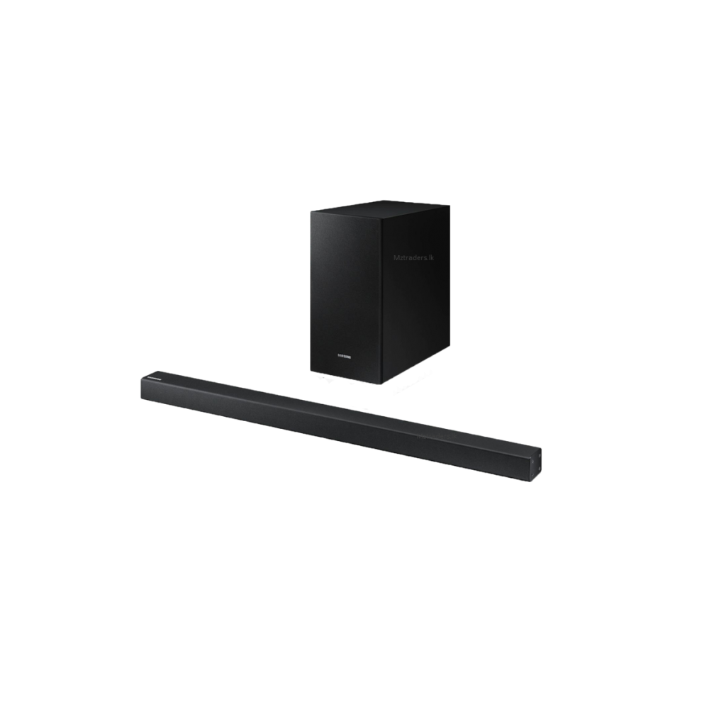 SAMSUNG SOUND BAR WITH WIRELESS SUB-WOOFER HW R450